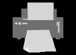 Printer Logo home